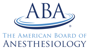 The American Board of Anesthesiology